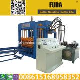 Vendas automáticas da máquina de fatura de tijolo do cimento Qt10-15 em África