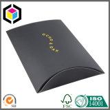 Glattes Farben-Silber-Firmenzeichen-Schal-Kissen-Papierverpackenkasten