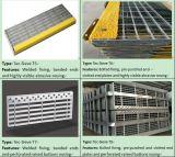 Hot-DIP Gegalvaniseerde Grating van het Staal Loopvlakken van de Trede voor de Ladders van de Stap (tec-Zeef T1 tec-Zeef T10)