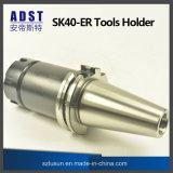 Suporte de ferramenta do mandril de aro do suporte Sk40-Er do aro da elevada precisão