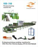 Linha de montagem da estação de trabalho PU para fabricação de calçados