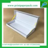 Bastante de embalaje de regalo blanca rígida de cartón caja de papel con la cinta