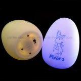 3D Egg Shape Multicolor Changing LED Baby Night Light (4030)