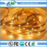 De gele/Amber facultatieve Flexibele LEIDENE van de Kleur band van de Strook Light/LED
