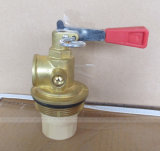 BC 25-35kgトロリー消火器の黄銅弁