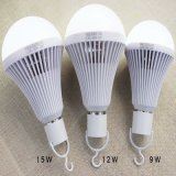 tempo Emergency di emergenza di ore della lampadina Lamp>8 di 9W LED