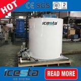 空気によって冷却される10t産業氷の薄片機械蒸化器ドラム
