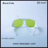 Bâti simple blanc 52 de 808nm, 980nm, glaces de sécurité des lasers 1064nm pour les lasers dentaires, diodes, ND : YAG, machines à commutation de Q avec le niveau élevé de protection