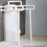 Barres d'encavateur en acier de support d'urinal de salle de toilette d'handicap de Nylon&Stainless