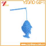 Горячие пакетик чая силикона Shapepromotional рыб надувательства/чай Infuser