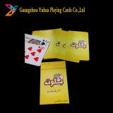 Venda por grosso de tipo normal 100% material PVC Ad jogando cartas YH17