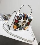 De nieuwe Zak van de Schouder van de Manier van de Bloem van het Borduurwerk van de Handtas van de Dames van het Ontwerp Trendy voor Vrouw Sy8140