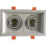 LED COB Simple Grille Light com uma cabeça / duas cabeças / três cabeças