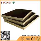 Los materiales de construcción de madera contrachapada de color marrón Film enfrenta