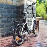 "36V 250W 20 "" 여자를 위한 접히는 전기 자전거 자전거 Ebike"
