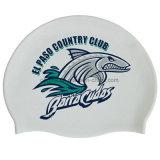 昇進のギフトは防水水泳帽のシリコーンを卸し売りする