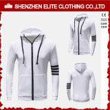 Выполненная на заказ одежда людей вскользь белое Hoodie (ELTHI-114)