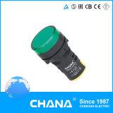 22mm Durchmesser geschützte LED Anzeigelampe mit Cer und RoHS Zustimmung