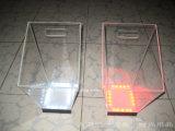 Kundenspezifische Plastikeis-Wanne des acryl-LED mit Firmenzeichen (BTR-P9019)