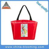 Sacchetto di Tote di nylon di acquisto della spalla della borsa rossa delle donne di corsa di alta qualità