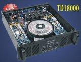 クラスTdの新技術1800Wのプロ高い発電のアンプ(TD18000)