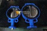 Oblate-Drosselventil mit CF8 Poliersitz Pn10/16 der platten-EPDM
