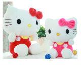 Hello Kitty preta adulto brinquedo recheadas de pelúcia