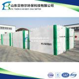 Завод по обработке сточных водов шуги изготовления фабрики различный активированный