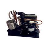 R134A 12V 24V Minikühleinheit-kondensierendes Gerät mit kleinem Kompressor für bewegliches Kühlsystem