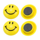 Ímã engraçado do refrigerador do estilo da cara do smiley para presentes das crianças (SMILEY-249)