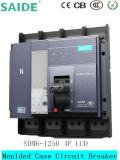 Disyuntor de caja moldeada 4p 1250A MCCB