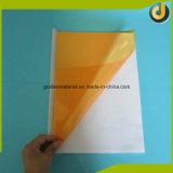 Transparente PVC hoja encuadernación tapa de fábrica de proveedores
