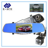 5 pouces 1080P Dashcam Car DVR miroir avec caméra de recul