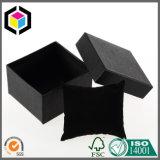 مختلفة رفاهية أسود نسيج ورقة ورق مقوّى [جفت بوإكس] مع غطاء