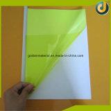 La mejor venta de alta calidad de la hoja de PVC cubiertas coloridas vinculante para Notebooks