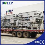 Prensa de filtro de la correa para la máquina de desecación del lodo para el tratamiento de aguas residuales