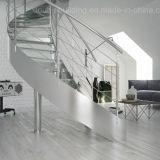Escada curvos dobrados Stringer Bitola de vidro de segurança