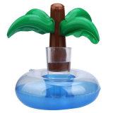 小型ヤシの木のプールの浮遊飲み物の膨脹可能な缶のホールダー