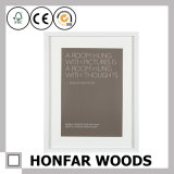 Noir moderne restant le bâti en bois de photo d'illustration pour le cadeau