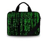 """Bolso de la computadora portátil del bolso de Comptuer del mensajero del hombro de la lona para 17 """""""