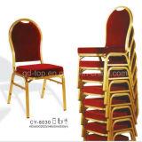 Hotel apilable silla del banquete de aluminio