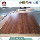 Suelo de madera del tablón del vinilo del PVC de los granos del diseño de lujo