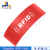 Wristband de papel portable modificado para requisitos particulares portable al por mayor de RFID