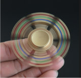 Großverkauf Metal goldene Kreiselkompass-Hexagon-Unruhe-Spinner