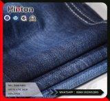 9.7oz完全な粗紡糸100%Cottonのあや織りのデニムファブリック