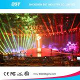 P3.91mm Handelsmiete LED-Bildschirmanzeige-videowand-Bildschirm mit H 140 Grad-Ansicht-Winkel