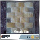 Mosaico di marmo quadrato di pietra della natura per le mattonelle della stanza da bagno