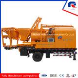Pompa per calcestruzzo montata camion di fabbricazione della puleggia con 500 L miscelatore dell'Gemellare-Asta cilindrica da vendere in L'India (JBC40-L)