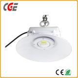 calidad ahorro de energía del establo del supermercado del almacén del reemplazo de las lámparas del pabellón LED de 200W 300W de la alta luz de aluminio de la bahía