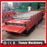 二重層カラー形作る鋼鉄屋根シートロール機械を作る